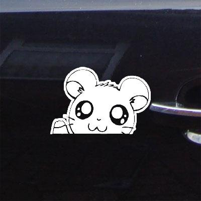 HAMTARO LAPTOP VINYL MACBOOK ADHESIVE VINYL HAMSTER HAMSHIR ART CAR NOTEBOOK STICKER DECAL AUTO CAR BIKE WINDOW HOME DECOR DECORATION DECOR WHITE WALL ART WALL DIE CUT HELMET