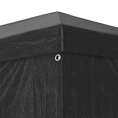 Festnight 9' x 19' Garden Outdoor Gazebo Canopy with 4 Sides Removable Walls and Zip Doors Heavy Duty Waterproof Patio Party Wedding Tent BBQ Shelter Pavilion Cater Events : Garden & Outdoor