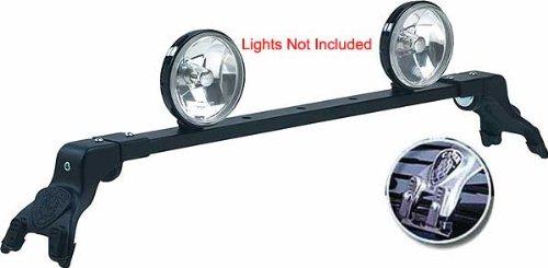 Carr's Light Bar Deluxe Rota For - GMC - Denali - 2002-2018 - Black - Includes Mounting Kit (Carr Deluxe Light Bars)
