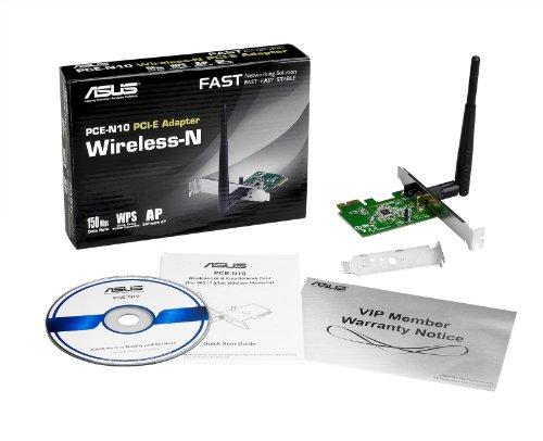 Asus PCE-N10 PCIe x1 802.11a/b/g/n Wi-Fi Adapter