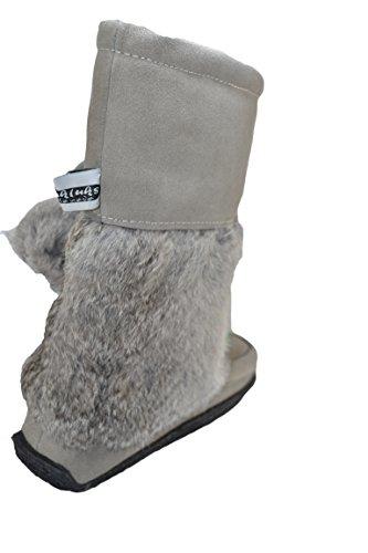Mukluks Damen Stiefel & Stiefeletten Grau Grau