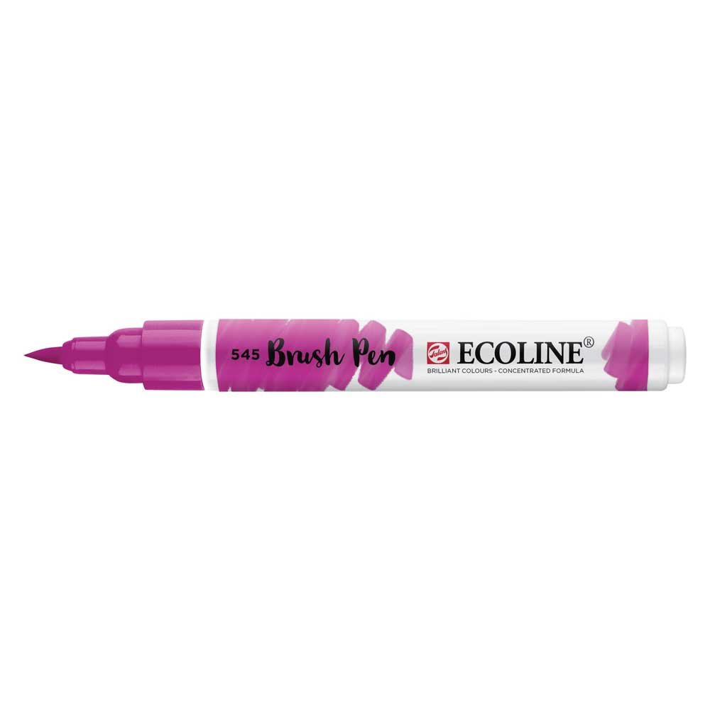 Ecoline Liquid Watercolor Brush Pen Red Viole Royal Talens
