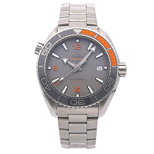 Omega Titanium Bracelet - Omega Seamaster Mechanical (Automatic) Grey Dial Mens Watch 215.90.44.21.99.001 (Certified Pre-Owned)