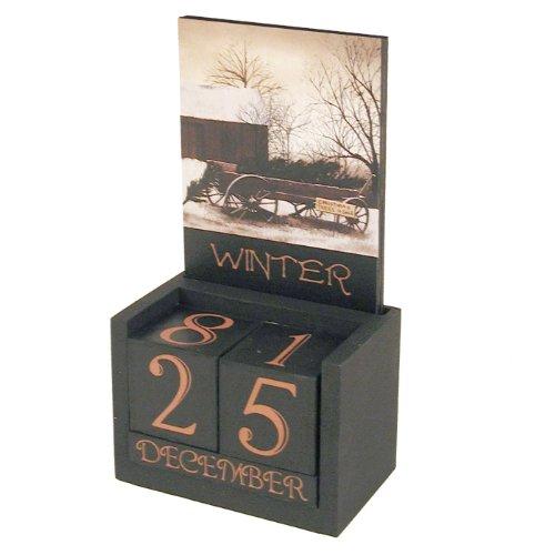 Ohio Wholesale 8-Piece Four-Seasons Perpetual Calendar Wall Art