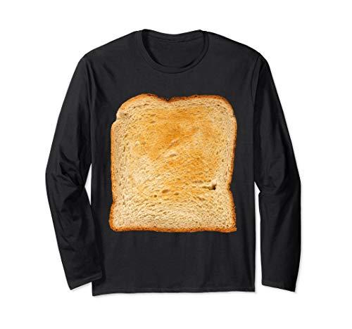 Avocado Toast Matching Costumes - Toast Bread Slice Costume  Long Sleeve T-Shirt