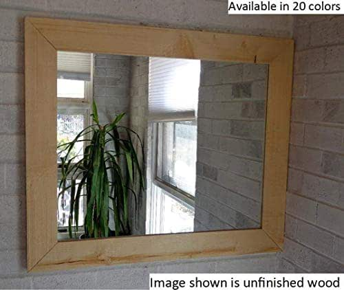 Amazon Com Shiplap Large Wooden Framed Mirror Available