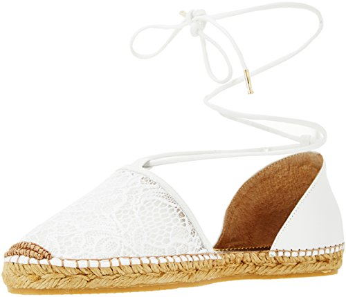 79a00158 Bianco Espadrilles Trussardi Jeans Femme 4aw50nq