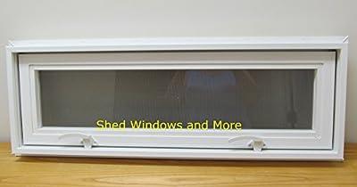 """Transom/Awning Window 30"""" x 12"""" Insulating Window Tiny House Sheds House Windows PLayhouse Windows"""