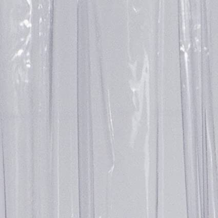 Ridder 360000-350 100 x 200 cm, Incluye enganches Cortina de Ducha de pl/ástico Transparente
