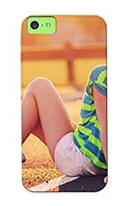 Awesome WBtQcXX1090Cvkgz Bloomeraw Defender Tpu Hard Case Cover For Iphone 5c- Girl On The Street