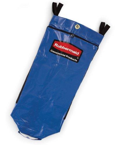 Rubbermaid Recycling Cart Bag, Blue, Vinyl