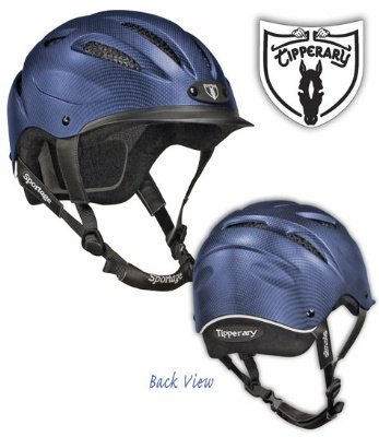 Tipperary Sportage 8500 Riding Helmet MD (Reflective Horse Tack)