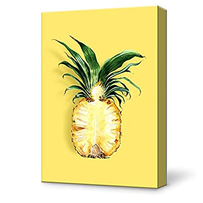 Canvas Wall Art Pineapple Modern Home Decor Canvas Painting Wall Decoration for Bedroom Living Room 12x18 inches
