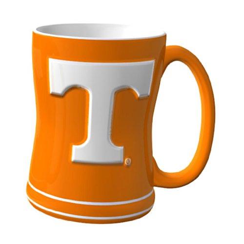 NCAA Tennessee Volunteers Sculpted Relief Mug, - Mug Coffee Tennessee Volunteers