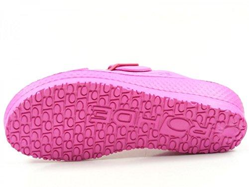 Mules Spiaggia Femme pink 7101 Rohde nwPfqY6C