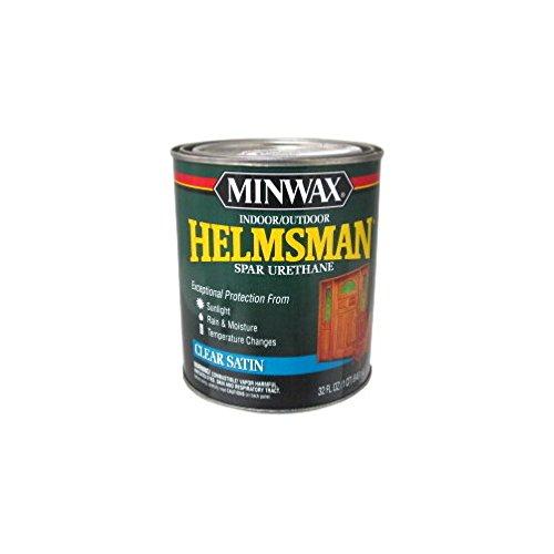 Minwax 63205 1 qt. Satin Helmsman Int & Ext Spar Urethane - -