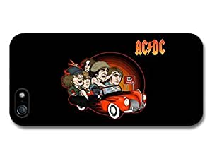 AMAF ? Accessories ACDC Band Illustration Riding Car to 666 case for iPhone 5 5S