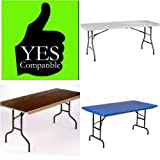 Lift Your Table Folding Table Risers Extenders