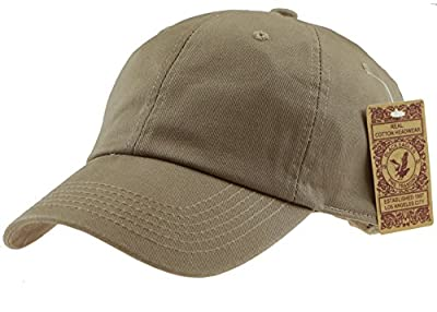 Black Eagles 100% Cotton and Denim Washed Classic Dad Hat Plain Dyed Low Profile Baseball Cap