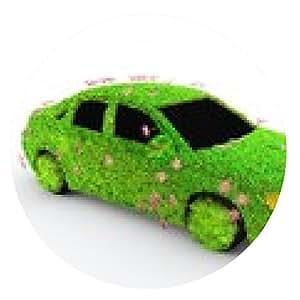alfombrilla de ratón vehículo ecológico - ronda - 20cm