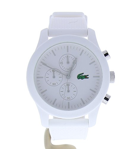 Lacoste Men's 2010823 12.12 Analog Display Quartz White Watch