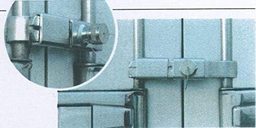 Made in Spain PRECIO 101,40 /€ : Cierre Cerradura Puertas Furgonetas carrozadas con fallebas F308 medidas de 23 a 30 cms Envio en 48 h El original pata negra