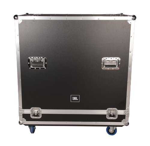 JBL Bags JBL-FLIGHT-PRX635 Flight Case for (2x) PRX635, 1/2-Inch Plywood Construction and 3.5-Inch Casters, Truck Pack Exterior by JBL Bags