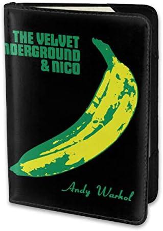 The Velvet Underground ヴェルヴェットアンダーグラウンド パスポートケース パスポートカバー メンズ レディース パスポートバッグ ポーチ 携帯便利 シンプル 収納カバー PUレザー収納抜群 携帯便利 海外旅行 出張 小型 軽便