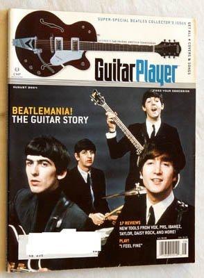 Guitar Player Magazine - August 2004 - Grade 9.0 - Beatles Collector