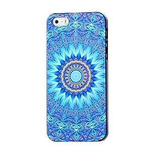 ZCL-Caso duro del patrón de mandala azteca para el iphone 5 / 5s