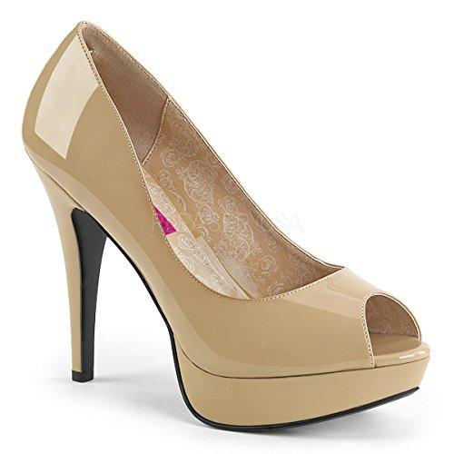 Open Pat 01 Donne Pleaser Toe Pink Delle Chloe Label Tallone SEvw7xn