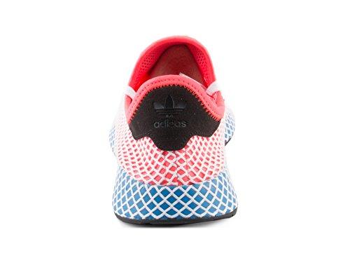 check out 1210d 41b53 adidas Mens Originals Deerupt Runner Solar RedBlue Bird Mesh Size 7  Amazon.ca Shoes  Handbags