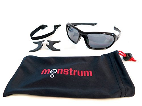 Monstrum Tactical TS01 Protective Sunglasses with Detachable Side Shields