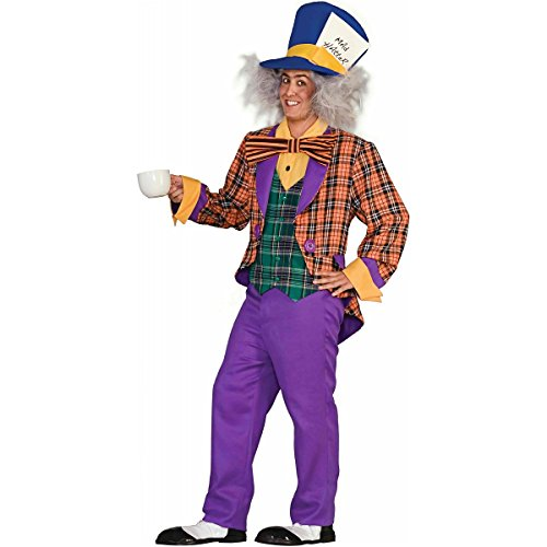 Mad Hatter Costume - Standard - Chest Size up to 42