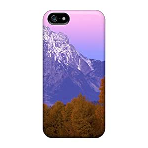 Beautiful Gr Tetons At Autumn Super Strong phone back shell New Arrival Wonderful covers Iphone5 iphone 5s iphone 5