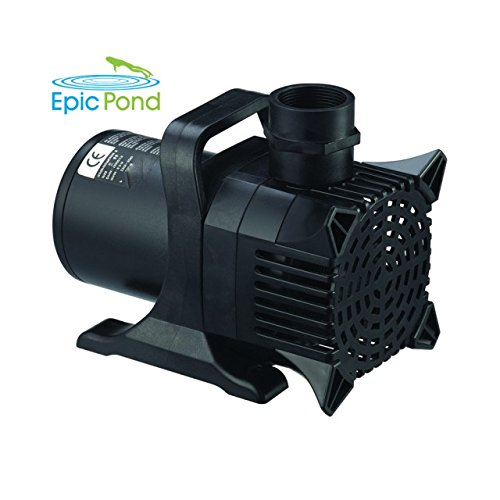 Epic Storm 1200 GPH Energy Saving Solids-Handling Submersible Pond & Waterfall Pump ESP1200 by EPIC