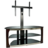 BellO TPC2133 Triple Play 52 TV Stand for TVs up to 60, Dark Espresso