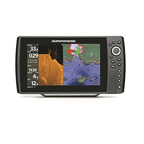 Humminbird 409970-1 HELIX 10 DI GPS Fishfinder Fish Finders And Other Electronics Humminbird