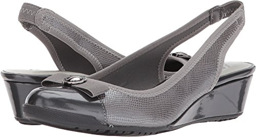 Anne Klein Women's Callee Pewter 5 M US