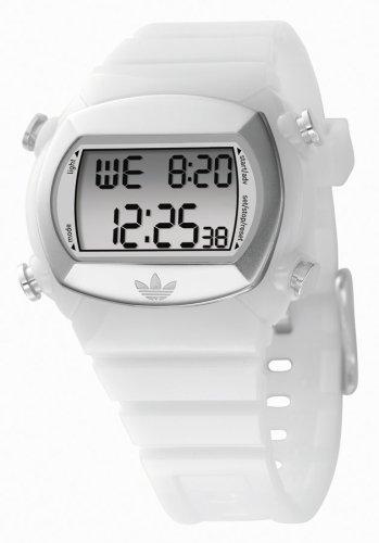 adidas Originals adh1583 Unisex Digital multifunción Blanco correa de PU reloj: Adidas: Amazon.es: Relojes