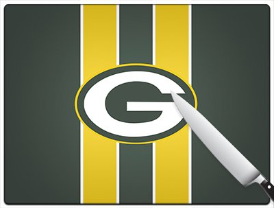 Green-Bay-Packers-Logo-Wallpaper-WallpapersNFL-1 Standard Cutting Board