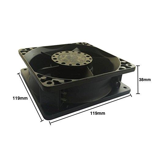 4650N 230V 19W AC 12038 temperature cooling fan all metalrter server industrial fan (4650N)