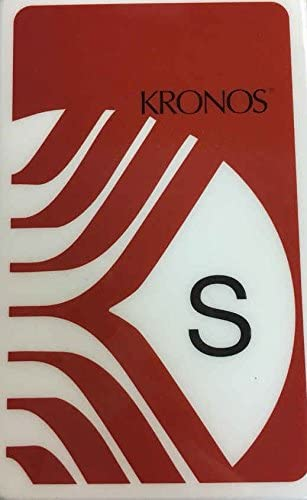 Kronos Supervisor Cards S Cards Pack of 5