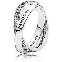 Pandora Women's Promise Ring, Size 58 Jewelry 196547CZ-58