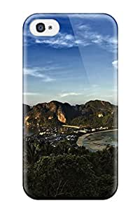 Tpu Case Cover For Iphone 4/4s Strong Protect Case - Landscape Photography People Photography Design