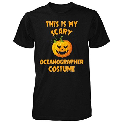 Oceanographer Costume (This Is My Scary Oceanographer Costume Halloween Gift - Unisex Tshirt Black S)