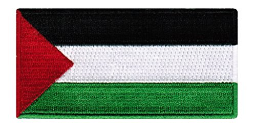 Palestine Flag Embroidered Patch Palestinian Iron-On National Emblem