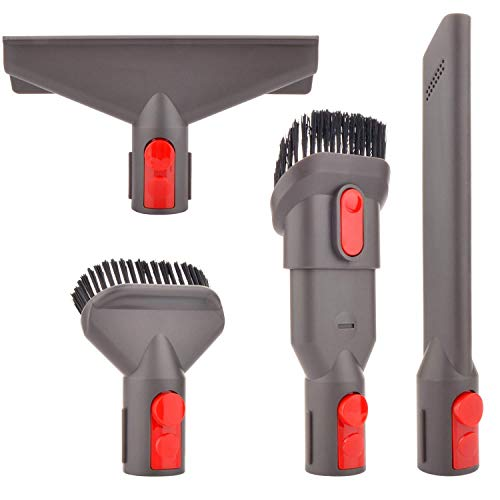 TOOGOO Accessory Tool Kit Attachment Set for V7 V8 V10 Sv10 Sv11 Cordless Vacuum Cleaner,Quick Release Spare Part Tool…