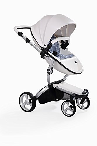 Cheap Mima Kids XARI Snow White Stroller with Aluminum chassis and Stone White starter pack