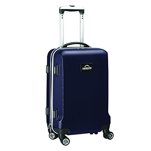 NFL Los Angeles Chargers Carry-On Hardcase Spinner, Navy by Denco
